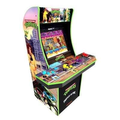 ARCADE1UP - Arcade1Up Teenage Mutant Ninja Turtles Lisanslı Oyun Konsolu (4 Kişilik)