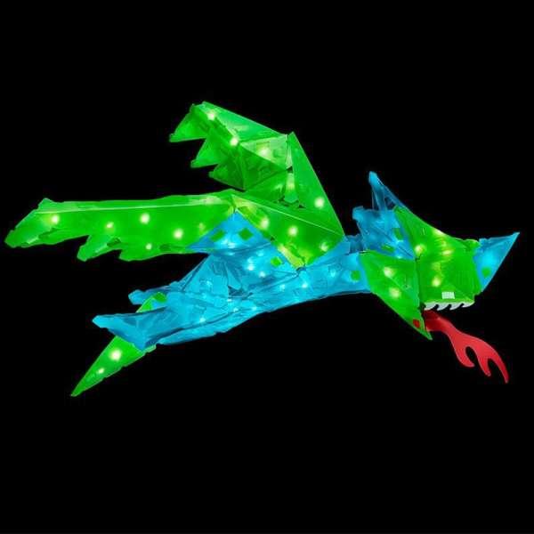 Creatto Dragon Ejderha Birleştirilebilir Led Aydınlatma