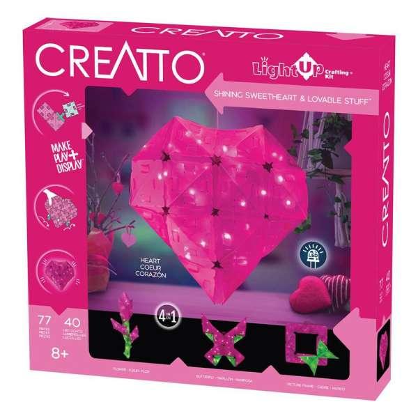 Creatto Love Kalp Birleştirilebilir Led Aydınlatma