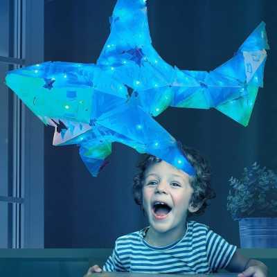 Creatto Shark Köpek Balığı Birleştirilebilir Led Aydınlatma - Thumbnail