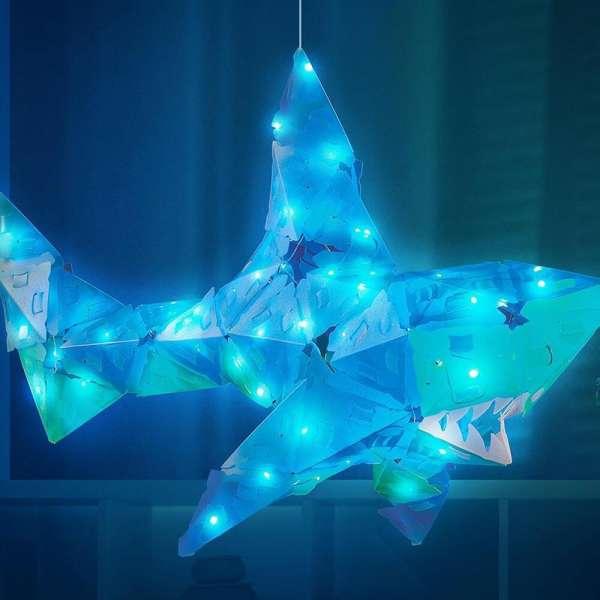 Creatto Shark Köpek Balığı Birleştirilebilir Led Aydınlatma