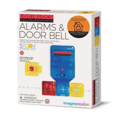 LOGIBLOCS - Logiblocs Alarm & Door Bell Akıllı Elektronik Oyun Devresi
