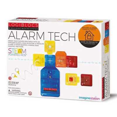 LOGIBLOCS - Logiblocs Alarm Tech Akıllı Elektronik Oyun Devresi