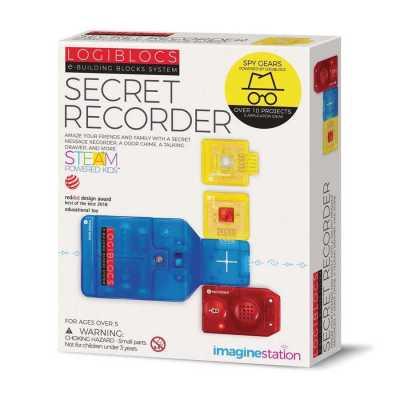 Logiblocs Secret Recorder Akıllı Elektronik Oyun Devresi - Thumbnail