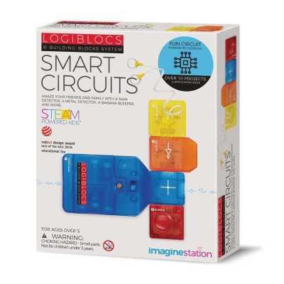 Logiblocs Smart Circuit Akıllı Elektronik Oyun Devresi - Thumbnail