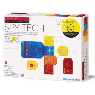 Logiblocs Spy Tech Akıllı Elektronik Oyun Devresi - Thumbnail