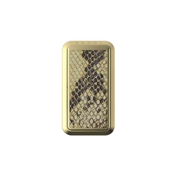 HANDLstick ANIMAL GOLD SNAKESKIN Stand Özellikli Telefon Tutucu