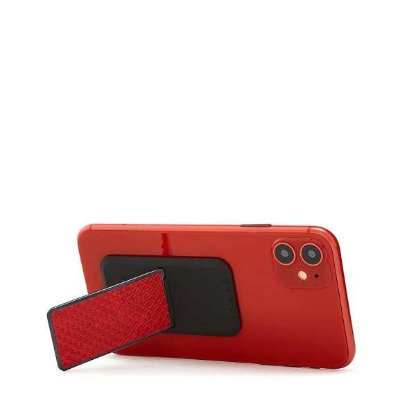HANDLstick ANIMAL RED SNAKESKIN Stand Özellikli Telefon Tutucu