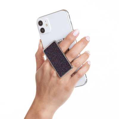 HANDL New York - HANDLstick GLITTER PURPLE Stand Özellikli Telefon Tutucu