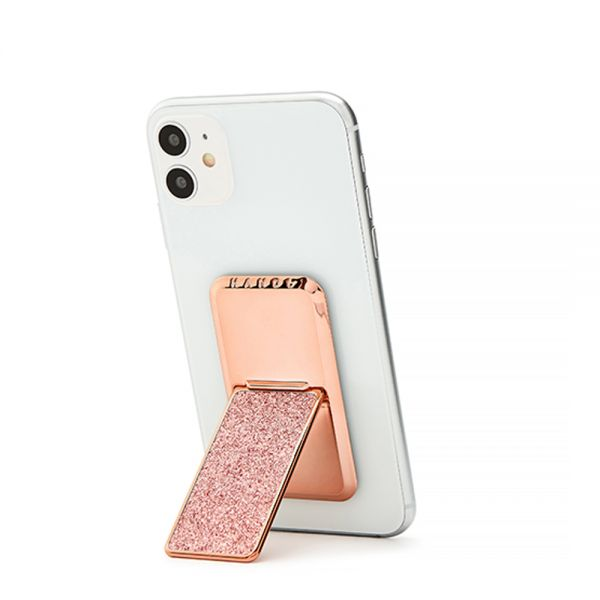 HANDLstick GLITTER ROSE GOLD Stand Özellikli Telefon Tutucu