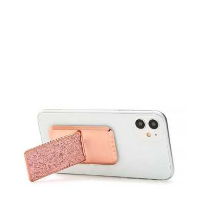 HANDLstick GLITTER ROSE GOLD Stand Özellikli Telefon Tutucu - Thumbnail