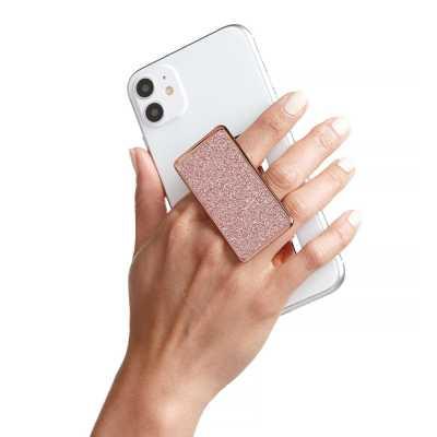 HANDL New York - HANDLstick GLITTER ROSE GOLD Stand Özellikli Telefon Tutucu
