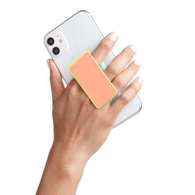 HANDLstick GLOW DARK CORAL/MINT Stand Özellikli Telefon Tutucu - Thumbnail