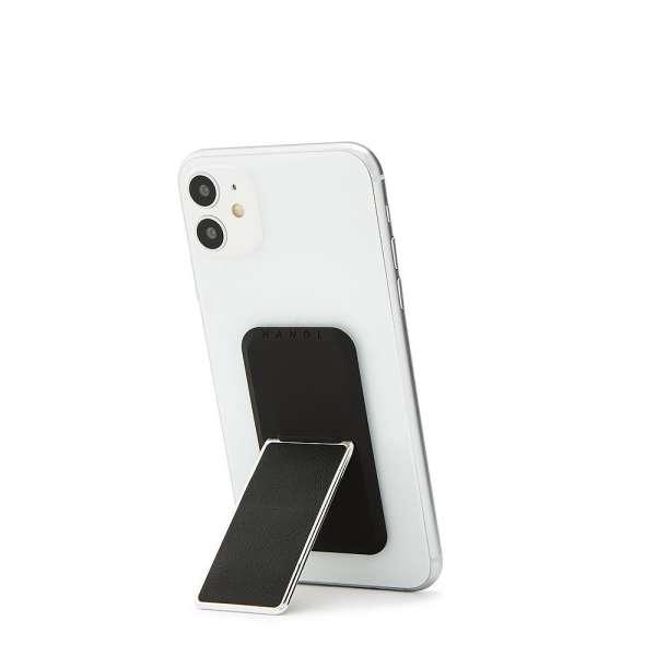 HANDLstick LEATHER BLACK/CHROME Stand Özellikli Telefon Tutucu