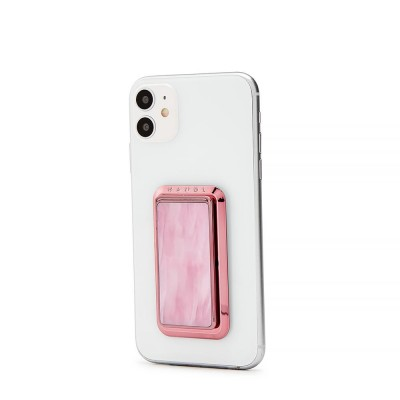 HANDLstick PINK MARBLE Stand Özellikli Telefon Tutucu - Thumbnail