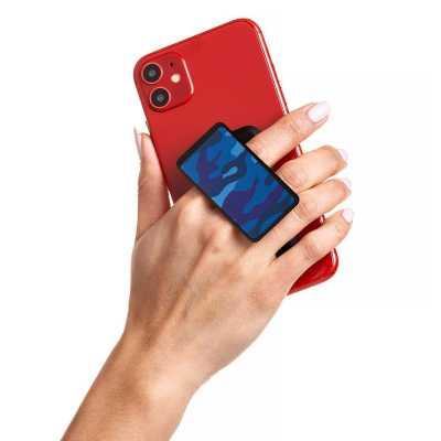 HANDL New York - HANDLstick PRINT CAMO NAVY Stand Özellikli Telefon Tutucu