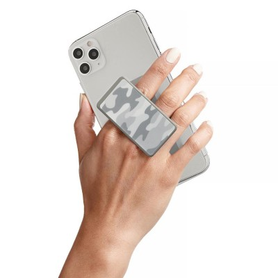 HANDL New York - HANDLstick PRINT CAMO WHITE ARCTIC Stand Özellikli Telefon Tutucu