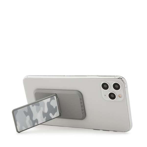 HANDLstick PRINT CAMO WHITE ARCTIC Stand Özellikli Telefon Tutucu