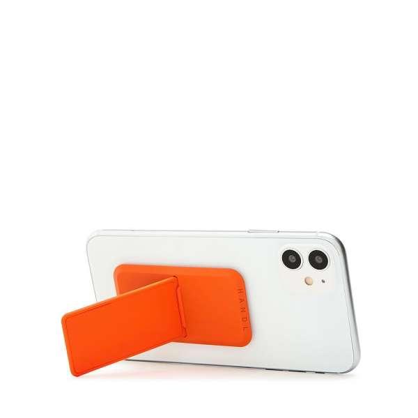 HANDLstick SOLID BLAZE ORANGE Stand Özellikli Telefon Tutucu