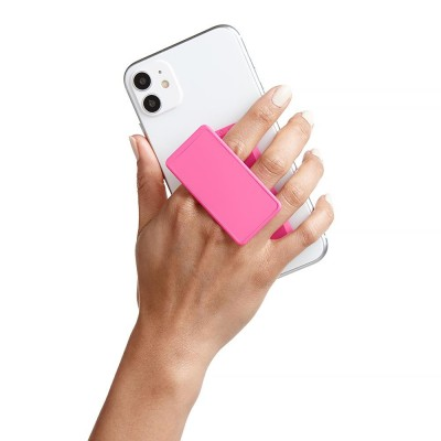HANDL New York - HANDLstick SOLID KNOCKOUT PINK Stand Özellikli Telefon Tutucu