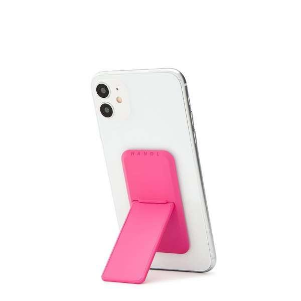 HANDLstick SOLID KNOCKOUT PINK Stand Özellikli Telefon Tutucu