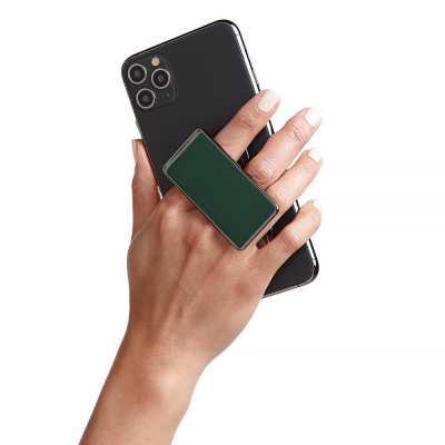 HANDL New York - HANDLstick SOLID MIDNIGHT GREEN Stand Özellikli Telefon Tutucu