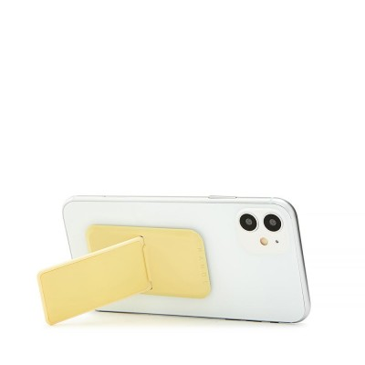 HANDLstick SOLID YELLOW Stand Özellikli Telefon Tutucu - Thumbnail