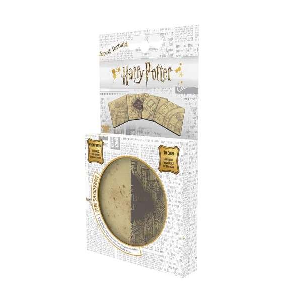 Harry Potter Lisanslı Marauders Map Bardak Altlığı