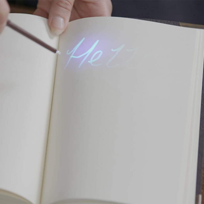 Harry Potter Lisanslı Tom Riddle'ın Günlük Fener ve Kalem Seti - Thumbnail