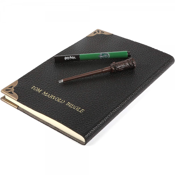 Harry Potter Lisanslı Tom Riddle'ın Günlük Fener ve Kalem Seti