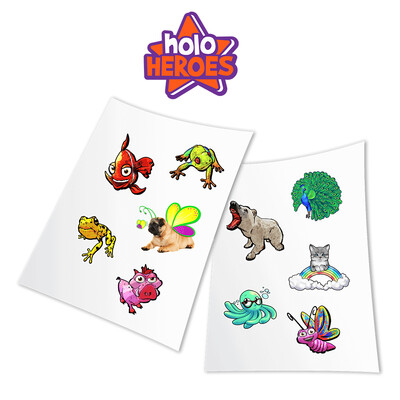 HoloToyz Sticker Holo Heroes AR Uyumlu Etiket - Thumbnail