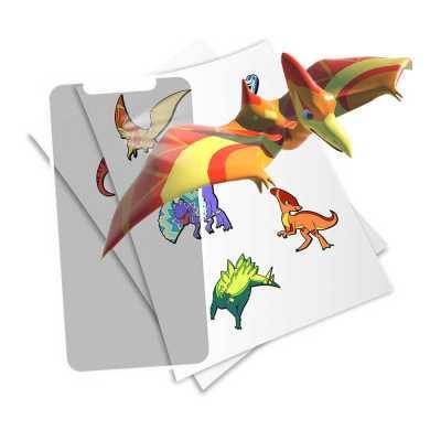 HoloToyz Sticker Jurassic Dinos AR Uyumlu Etiket - Thumbnail
