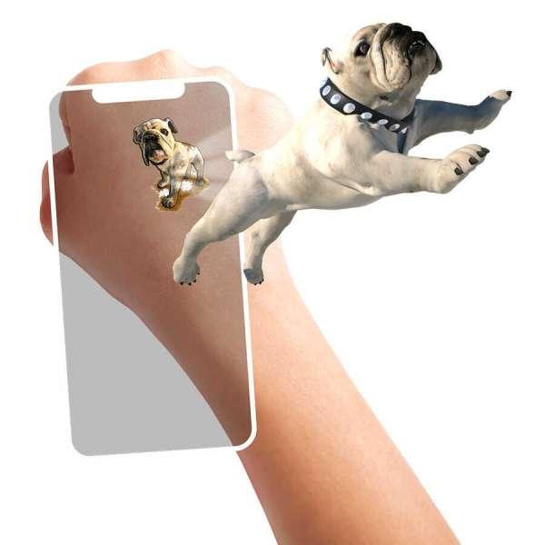 HoloToyz Tattoo Pet Party AR Uyumlu Geçici Dövme