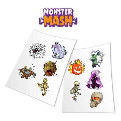 HoloToyz Sticker Monster Mash AR Uyumlu Etiket - Thumbnail