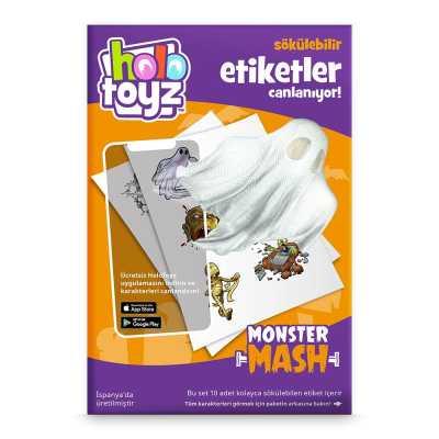HOLOTOYZ - HoloToyz Sticker Monster Mash AR Uyumlu Etiket