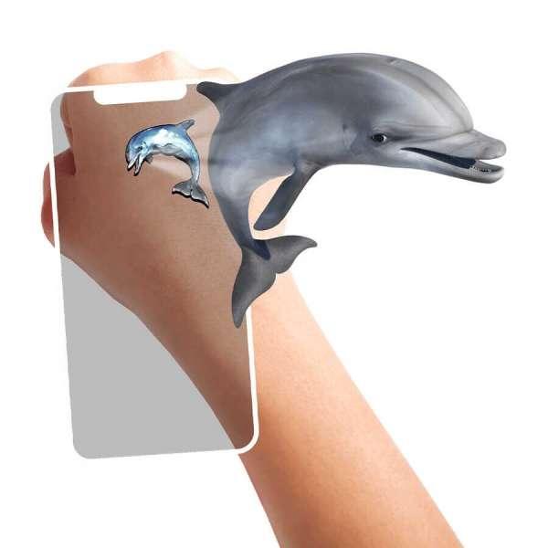 HoloToyz Tattoo Super Sea Creatures AR Uyumlu Geçici Dövme