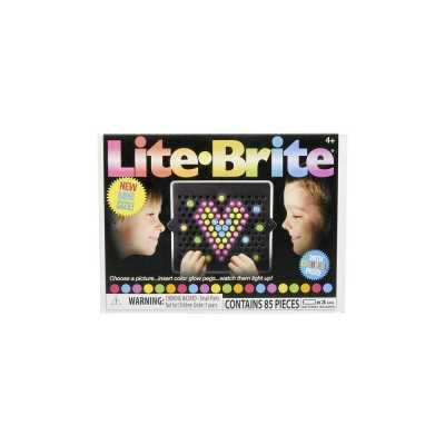 LITE BRITE - Lite-Brite Mini Seyahat Tipi Işıklı Retro Oyuncak