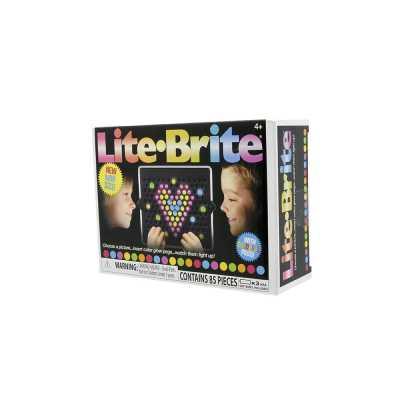 Lite-Brite Mini Seyahat Tipi Işıklı Retro Oyuncak - Thumbnail