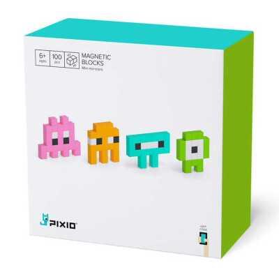 PIXIO - Pixio Mini Monsters İnteraktif Mıknatıslı Manyetik Blok Oyuncak