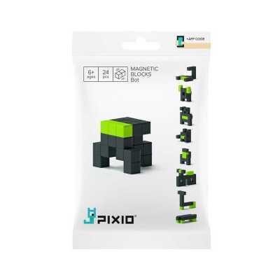 PIXIO - Pixio Bot İnteraktif Mıknatıslı Manyetik Blok Oyuncak
