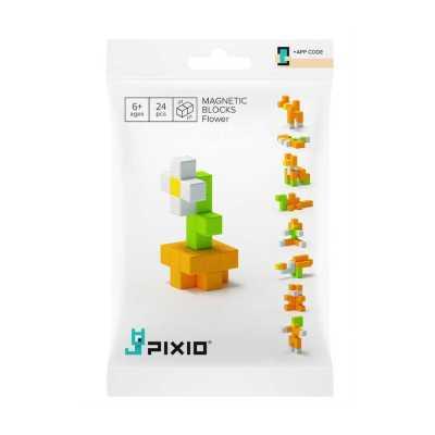 PIXIO - Pixio Flower İnteraktif Mıknatıslı Manyetik Blok Oyuncak