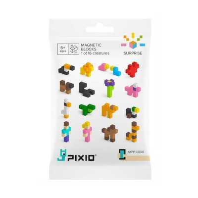 PIXIO - Pixio Surprise İnteraktif Mıknatıslı Manyetik Blok Oyuncak