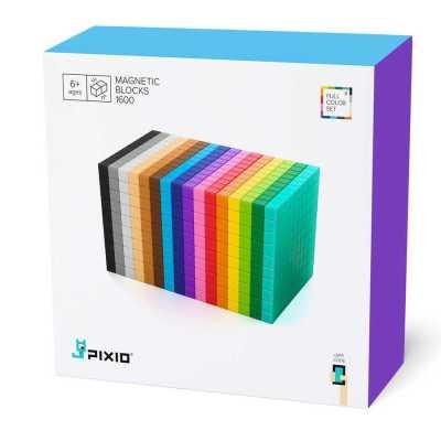 PIXIO-1600 İnteraktif Mıknatıslı Manyetik Blok Oyuncak - Thumbnail