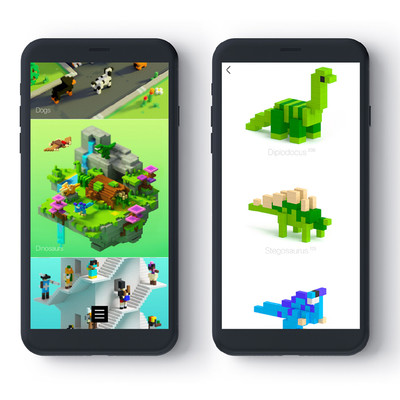 Pixio Mini Ocean İnteraktif Mıknatıslı Manyetik Blok Oyuncak - Thumbnail