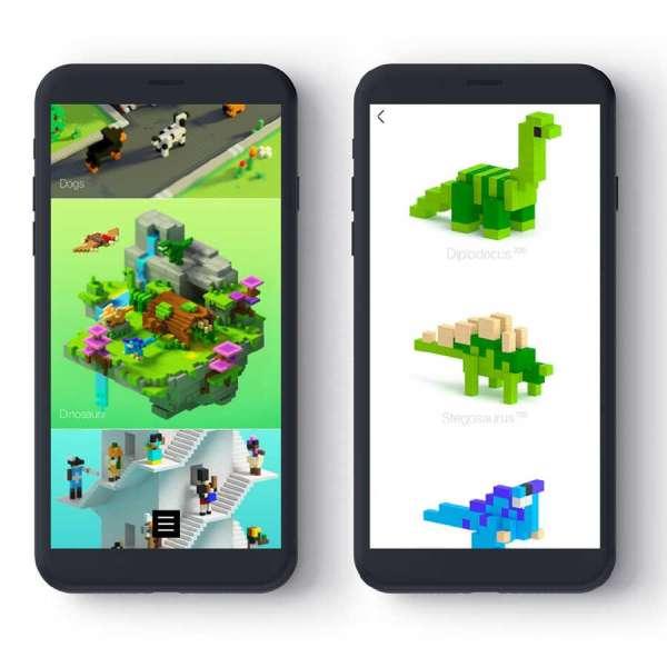 Pixio Mini Safari İnteraktif Mıknatıslı Manyetik Blok Oyuncak