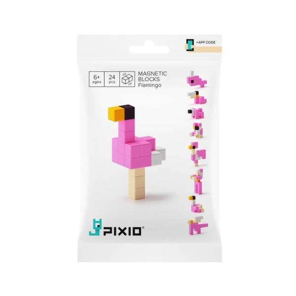 Pixio Flamingo İnteraktif Mıknatıslı Manyetik Blok Oyuncak