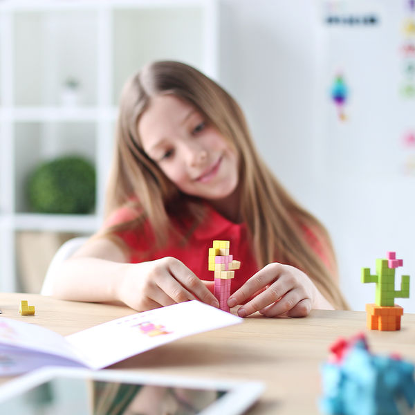 Pixio Flower İnteraktif Mıknatıslı Manyetik Blok Oyuncak