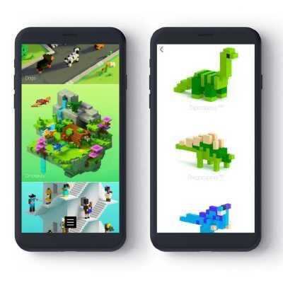 Pixio Man İnteraktif Mıknatıslı Manyetik Blok Oyuncak - Thumbnail