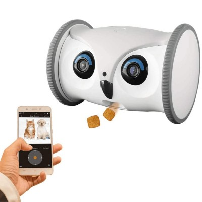 Owl Robot İnteraktif Evcil Hayvan Oyuncağı - Thumbnail
