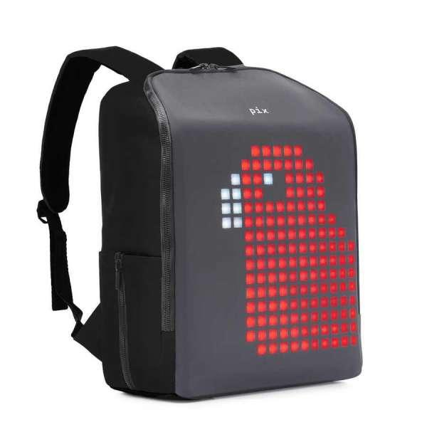 Pix Mini Black Led Ekranlı Akıllı Sırt Çantası
